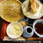 55933102 - 天然大海老と野菜天付ざる蕎麦食べ比べ(\2,800)
