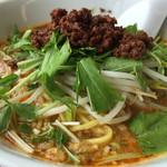 ささのは - 料理写真:担々麺+ご飯 850円  Aセット