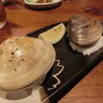 築地日本海 - 蛤の酒蒸し