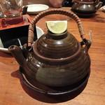築地日本海 - 今年も、松茸の土瓶蒸 980円+税 (^q^)v