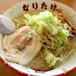 こってりらーめん なりたけ - 濃厚背脂らーめん(醤油)!(2016,09/03)