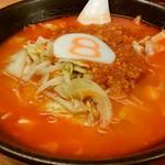 8番らーめん - 野菜トマトラーメン