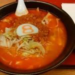 8番らーめん - 料理写真:野菜トマトラーメン&チーズトッピング