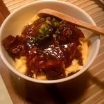 Yakitorisuehirogari - モツ煮と小振なオムライス