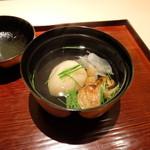 ginzakuikirihirayama - のどぐろといちぢくの椀