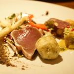 ラクチネッタヤマオカ - <Cena B> (¥5,500) 前菜盛り合わせ
