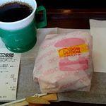 ドムドムハンバーガー - 今や桑名バーガーです。 中部地区では喫食困難のハンバーガーになってます。