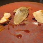 Bistaurant RNSQ - スペイン産プーレ(若鶏) 茄子2