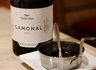 ワイン&焼肉レストラン 承陽庭 - 注文した赤ワインで作る特別な焼肉のタレ♪