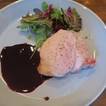 モンプチコションローズ - 28年9月 千葉県いも豚ロースト 赤ワインソース