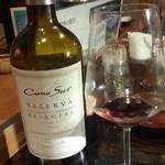 55947675 - 赤ワインはこの銘柄のみ