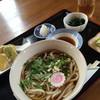 農村レストラン 味の里 - 料理写真:自然薯うどんセット