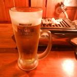 炎や - ビール(プレミアム・モルツ生)
