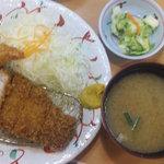 5595034 - 満腹ロースカツ定食 160g 780円 (限定30食!!)