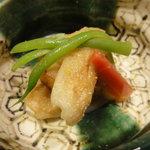 手料理 きくち - 粟麩と里芋の甘酢味噌和え