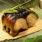 手料理 きくち - 金華鯖の炙り
