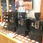 関サービスエリア(上り線)テイクアウトコーナー - 同時購入で挽きたてコーヒーを100円で飲めます