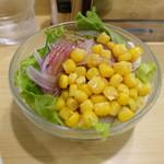 香辛亭 - サラダ 200円