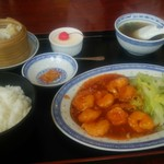 とっきん亭 - 料理写真:小えびチリセット
