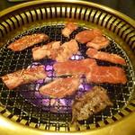 炭火焼肉 やなぎ家 -  2016.9月