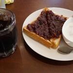ハセ珈琲店 - 小倉トースト