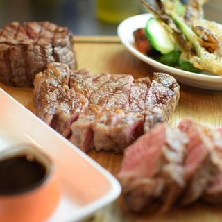 お肉の種類も豊富にご用意!