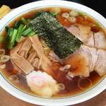 喜味屋食堂 - 喜味屋食堂@宮内(新潟) ラーメンセットのラーメン