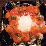 ベルクス - 料理写真:海老チリ温玉丼