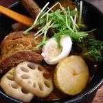 奥芝商店 - スープカリーのアップ