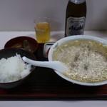 中華亭 - 中華そば定食(800円)