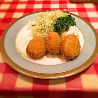 洋食屋 ヨシカミ SUNAMO店 - 2016 カニクリームコロッケ