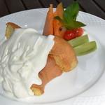 ミントガーデン - 料理写真:シフォンケーキ