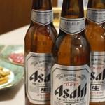 浅草名代らーめん 与ろゐ屋 - アサヒスーパードライ小ビール