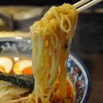 5596711 - 辛味噌麺(からしみそめん)750円 麺アップ