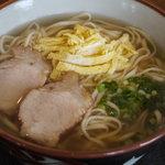 ゆたか食堂 - そば(大)