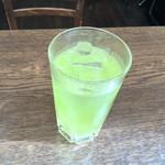 ミニヨン 坂ノ上 - 冷たい玄米抹茶