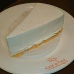 カフェ・ド・クリエ - 北海道産クリームチーズケーキ♥ (*^o^)/\(^-^*)