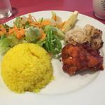 インドレストラン ガンジス - プレート