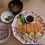 あんず  - 京野菜の包み揚げ膳