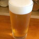 エイケイコーナー - 2016.9       ビールで夜のメニューを楽しみたかったですが・・
