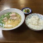 自由軒 - 自由軒(北海道旭川市五条通)味噌汁(ライス付)