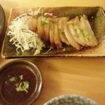 タイ居酒屋 カナ - 「コームーヤン」(タイ風豚トロ焼き)」(700円)