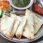 New Delhi Spice - ワンプレート全体像