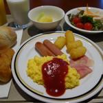 55973965 - 今朝の朝ご飯