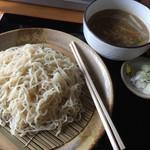 55975218 - 鶏つけ麺の醤油