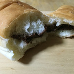 bakery&coffee sora no kujira - チョコクッキーコッペパン