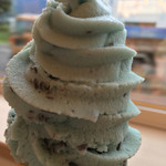 bakery&coffee sora no kujira - チョコミントソフトクリーム
