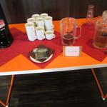 CAFE Wedding H&A - ドリンクコーナー。