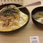 松屋 - 牛とじ丼 2016/9月