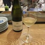 東京チャイニーズ 一凛 - (アタの掛川シェフの弟さんの)白ワイン
